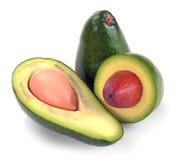 Ripe sliced avocado Royalty Free Stock Images
