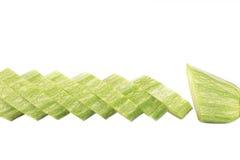 Ripe sliced marrow. Stock Images
