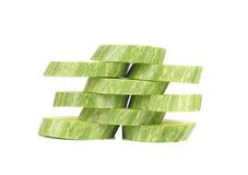 Ripe sliced marrow. Royalty Free Stock Photo