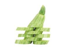 Ripe sliced marrow. Royalty Free Stock Image