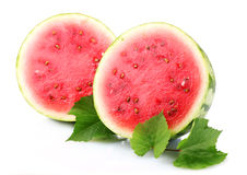 Ripe sliced watermelon Royalty Free Stock Photos