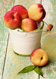 Ripe Small Nectarines Stock Images
