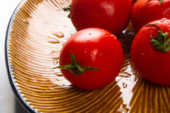 ripe small tomatoes Royalty Free Stock Photography