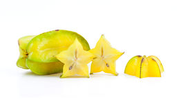 Ripe star apple Royalty Free Stock Image