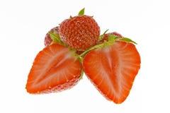 Ripe strawberries Stock Photo