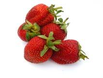 Ripe strawberries Stock Photos