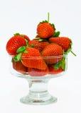 Ripe strawberries. Ripe berries. red sweet strawberry Stock Photo