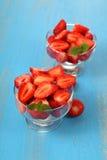 Ripe strawberries Royalty Free Stock Photos