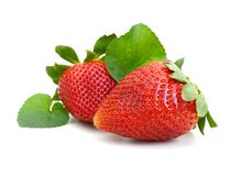Ripe strawberries Royalty Free Stock Photo