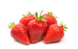Free Ripe Strawberries Natural Food Isolated Stock Photos - 80114203