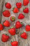 Ripe strawberries Royalty Free Stock Image