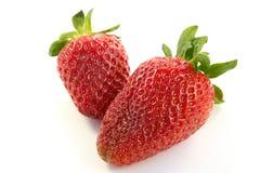 Ripe strawberry Stock Photo