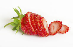 Ripe strawberry. Royalty Free Stock Images