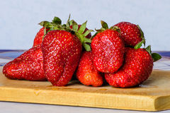 Ripe strawberry Stock Photo