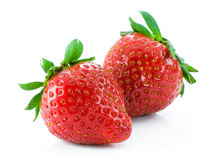 Ripe strawberry Stock Image