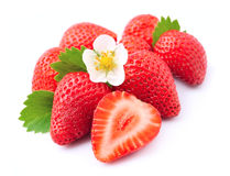Ripe strawberry Stock Photos