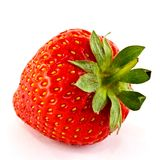Ripe strawberry Stock Image