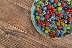 Ripe summer berries Stock Image