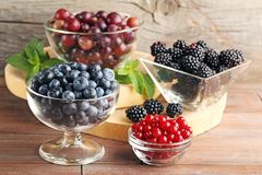 Ripe and sweet berries Stock Image
