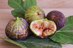 Ripe and sweet figs Stock Photos