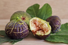 Ripe and sweet figs Stock Images