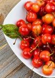 Ripe Sweet Maraschino Cherries Royalty Free Stock Photo