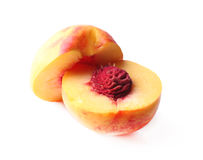Ripe sweet peaches Royalty Free Stock Image