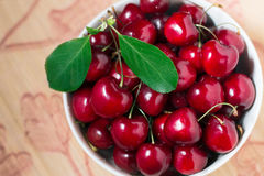Ripe sweet red cherries Royalty Free Stock Photography