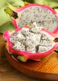 Ripe sweet tropical dragon fruit Royalty Free Stock Photo