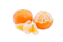 Ripe tangerine Stock Photos