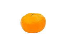 Ripe tangerine isolated Royalty Free Stock Photography