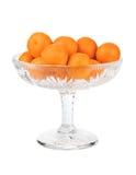 Ripe tangerine or mandarin fruit Stock Photography