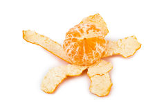 Ripe tangerine or mandarin fruit Royalty Free Stock Photo