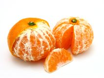 Ripe tangerines Royalty Free Stock Photos