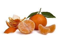 Ripe tangerines Stock Image