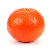 Ripe tangerines isolated on white background Royalty Free Stock Photography