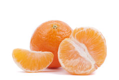 Ripe tangerines. Royalty Free Stock Image
