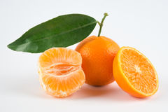 Ripe tangerines Stock Photo