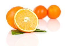 Ripe tasty mandarin Royalty Free Stock Image