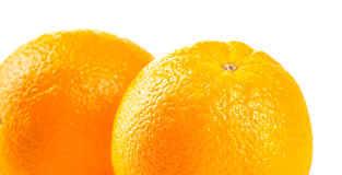 Ripe tasty orange Royalty Free Stock Photography