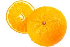 Ripe tasty orange Stock Images