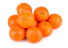 Ripe tasty tangerines Stock Image