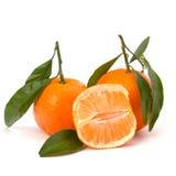 Ripe tasty tangerines Royalty Free Stock Image