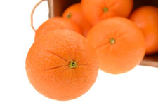 Ripe tasty tangerines Royalty Free Stock Image