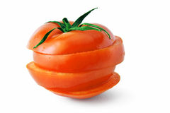Ripe tomato Stock Photo