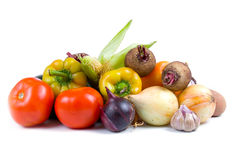 Ripe vegetables Royalty Free Stock Photos
