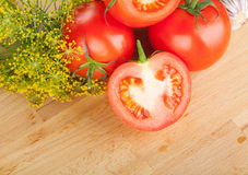 Ripe vegetables Royalty Free Stock Image