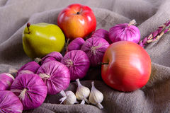 Ripe vegetables healthy eating Stock Photography
