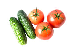 Ripe vegetables  Stock Photography