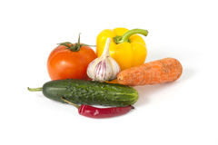 Ripe vegetables Stock Images